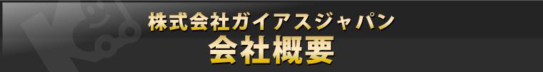 株式会社ガイアスジャパン 会社情報